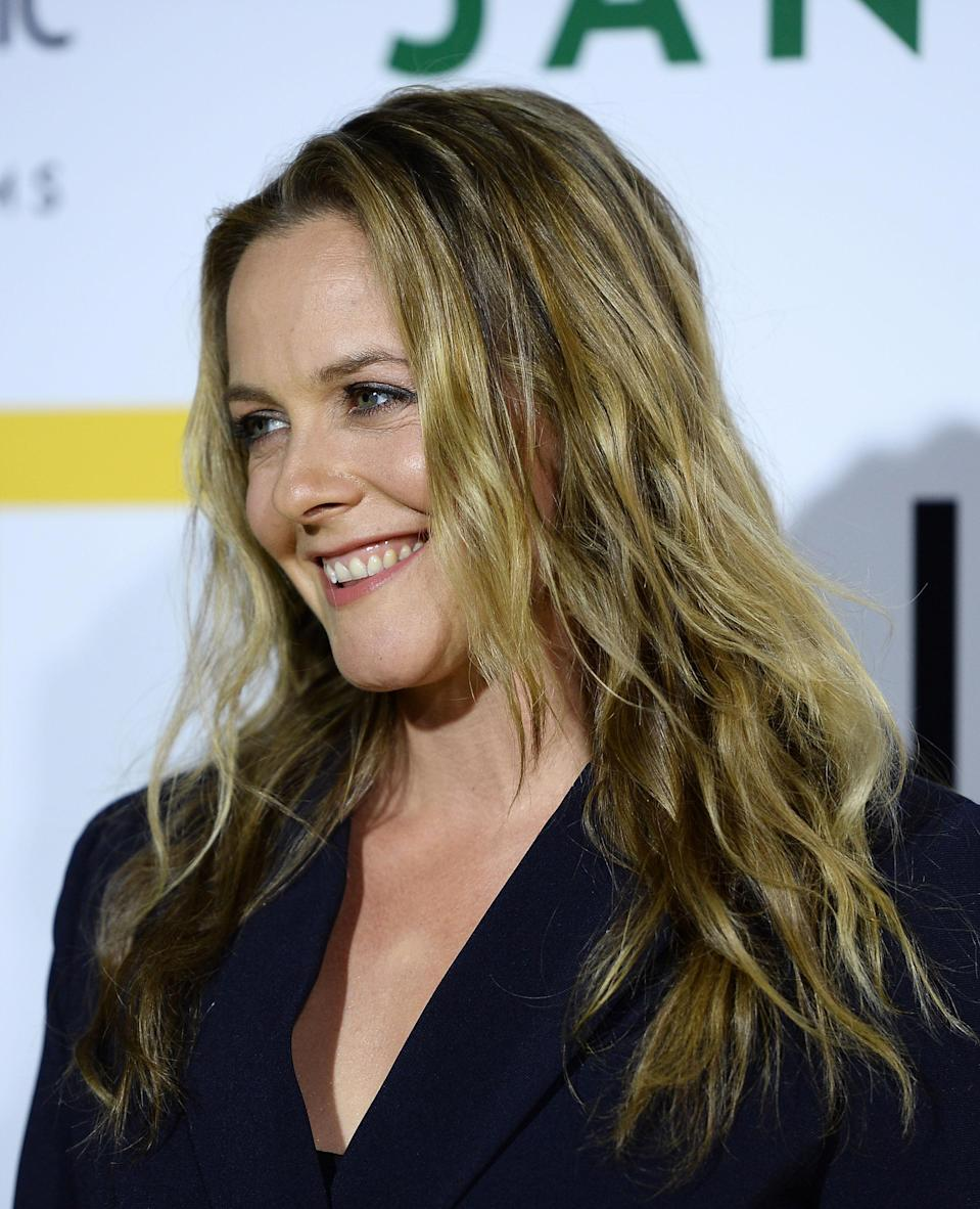 Alicia Silverstone at the Hollywood Bowl on Oct. 9. (Photo: Getty Images)