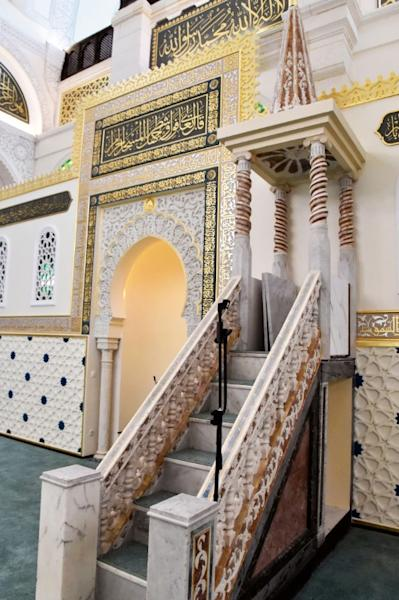 The date of the first mosque built on the site where the Ketchaoua mosque in the famed UNESCO-listed Casbah district of Algiers now sits remains under debate but the earliest references to it can be found in 1612