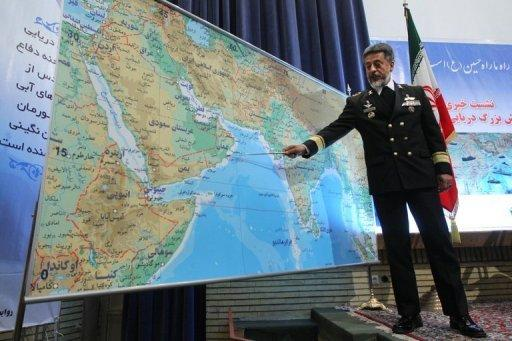 "Iran's navy chief has said closing the strategic Strait of Hormuz would be ""really easy"" but was not currently necessary"
