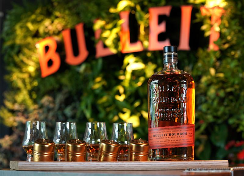 A Sneak Preview of The New Bulleit Distilling Co. Visitor Experience Cocktail Bar in Shelbyville, Ky, Set To Open to The Public on June 25th