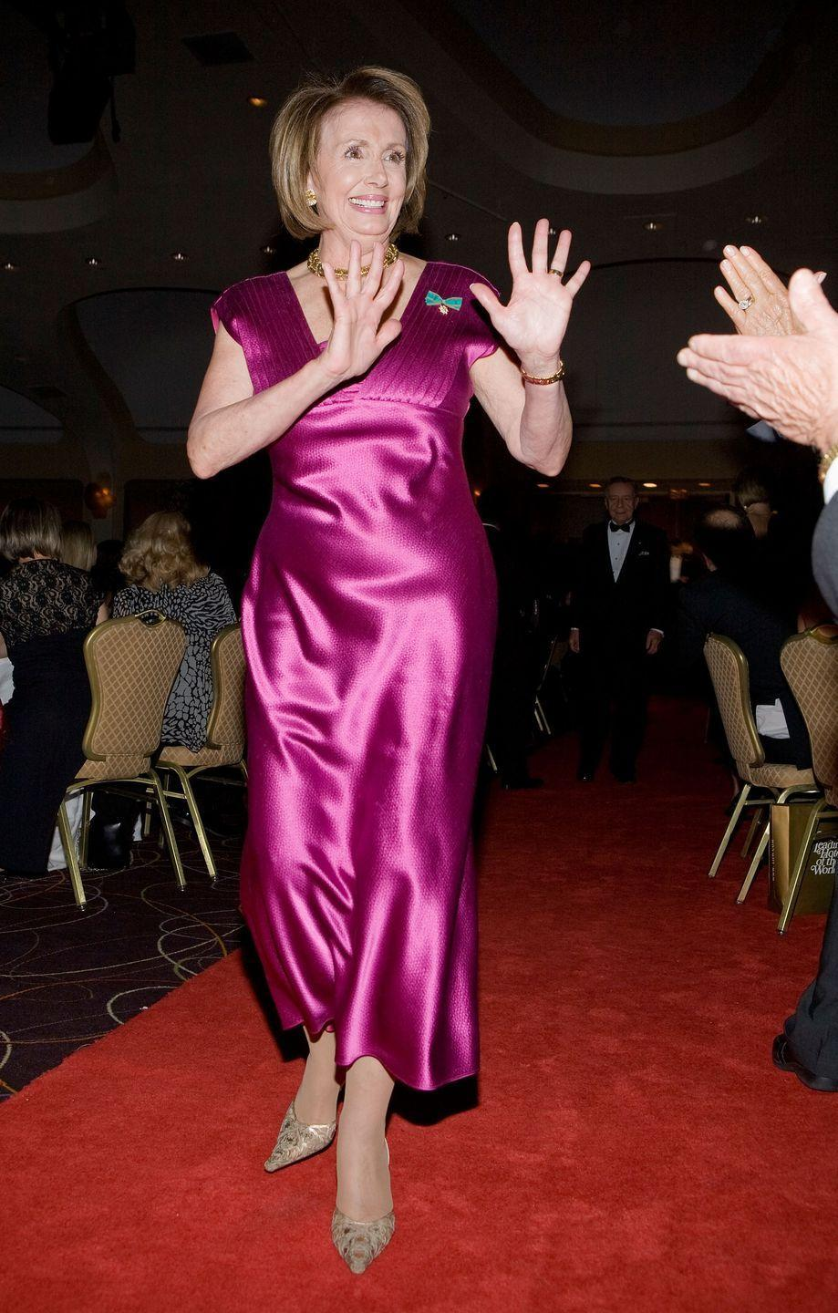<p>Pelosi attends the National Italian American Foundation (NIAF) 33rd Anniversary Awards in Washington, D.C. </p>