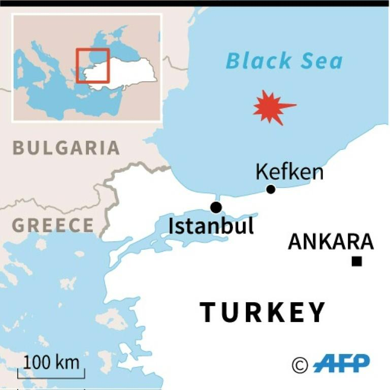 Accident off Turkish coast