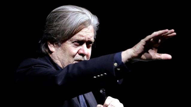 Steve Bannon: 'Let Them Call You Racist; Wear It As A Badge Of Honor'