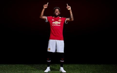 Fred signs for united - Credit: Getty images
