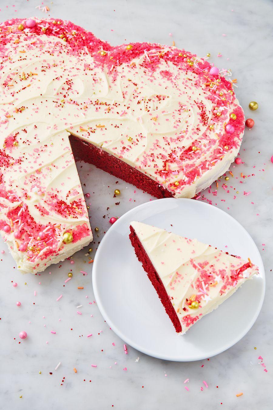 "<p>Cream cheese frosting? Yes please.</p><p>Get the recipe from <a href=""https://www.delish.com/cooking/recipe-ideas/a25846375/heart-shaped-cake-recipe/"" rel=""nofollow noopener"" target=""_blank"" data-ylk=""slk:Delish"" class=""link rapid-noclick-resp"">Delish</a>.</p>"