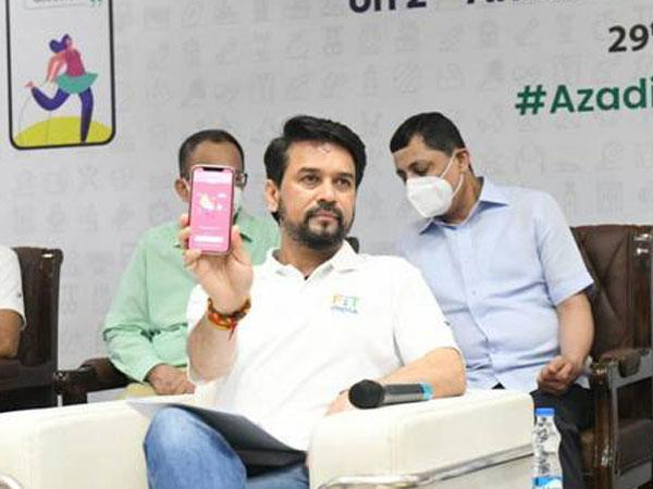 Minister of Youth Affairs and Sports, Anurag Singh Thakur (Photo/ANI)