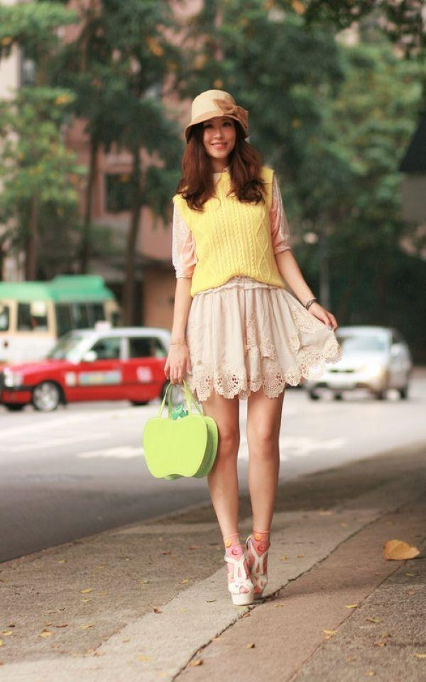 """<p><strong>With skirts: </strong>Skirts are the perfect combination of chic and feminine beauty. Wedges when worn with short skirts compliment your legs, give them a new look, make them appear different and toned. Carry a colourful clutch, one completely different from your outfit to give your look the final touch it needs.<br /><br /><strong>Don't miss: </strong><a href=""""http://idiva.com/news-style-beauty/tips-to-get-comfortable-in-your-heels/9647"""" target=""""_blank"""">Tips to Get Comfortable in Your Heels</a></p>"""