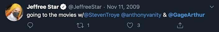 Star deleted this tweet after Insider asked him to comment on it.