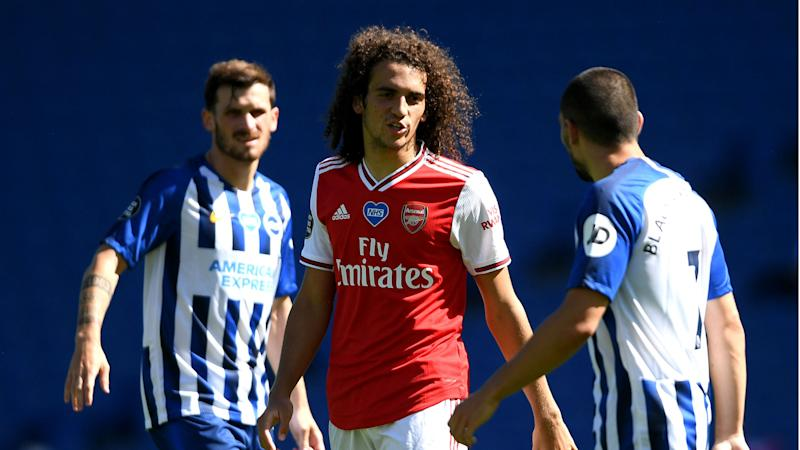 Guendouzi to face no further action over Maupay incident