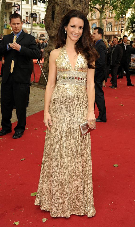 "<a href=""http://movies.yahoo.com/movie/contributor/1800058826"">Kristin Davis</a> at the London premiere of <a href=""http://movies.yahoo.com/movie/1810111276/info"">Sex and the City 2</a> - 05/27/2010"
