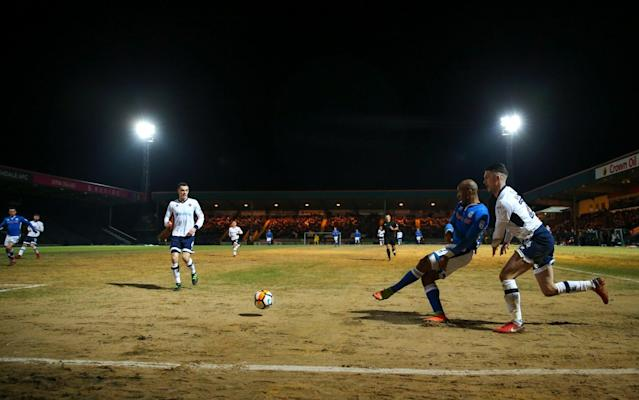 "Mauricio Pochettino, the Tottenham Hotspur manager, has said that Rochdale's sand-covered pitch is not fit to host their fifth-round match later this month. Spurs are due to travel to Spotland on Sunday week after Rochdale defeated Millwall in an FA Cup replay on Tuesday. Neil Harris, the Millwall manager, said after the game the pitch was the worst he had ever seen. And Pochettino, who has seen pictures of the surface, believes both sets of players would be at risk of injury if they were to play at Spotland. The Spurs manager also called on the Football Association to assess the surface before allowing any match to take place. ""I think the FA need to assess how the pitch is and then to take a decision about if it's good for the FA Cup, good for the players, good for the teams to play in this type of pitch,"" Pochettino said. ""In that condition I think it does not help football. Pochettino is chasing his first trophy as a manager Credit: Getty images ""I don't know why what happened, happened with this pitch but it is true that the picture [I have seen], I think it is not a pitch in a condition to play football."" Asked if he was worried about his players picking up injuries, Pochettino said: ""Yes, but I think the opponent, too. I think it is a big risk to play in a pitch like this, if the pictures I have seen give an accurate impression of the state of it. ""If it is like I saw in the pictures, I think you cannot play football on it. That is my point of view. But not because we are Tottenham. No, I think Rochdale cannot play football there, too. And it's a massive risk for their players, too. Sand covers the Rochdale pitch Credit: Getty images ""Maybe the FA need to go in and try to take a very good decision for football, not only because we have to go and play there."" Pochettino added that he would speak to Spurs chairman Daniel Levy to ""see if we can find some solutions"". It is understood that it is unlikely the venue of the game would be switched by the FA, which expects the match to go ahead at Spotland as planned. The pitch was of course deemed playable for Tuesday night's meeting with Millwall. Spurs face Arsenal at Wembley on Saturday and Pochettino said that Lucas Moura, the club's £25m signing from Paris Saint-Germain, was ""in contention"" to make his debut."
