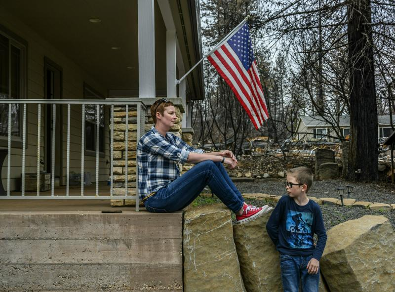 Analysis: Safety rules give homes better chance in wildfires