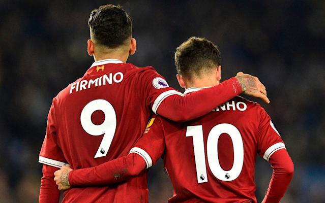 Philippe Coutinho's absence will be most felt by Roberto Firmino