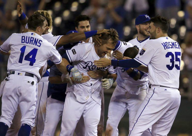 The Royals might want to go for it one more time. (AP Photo)