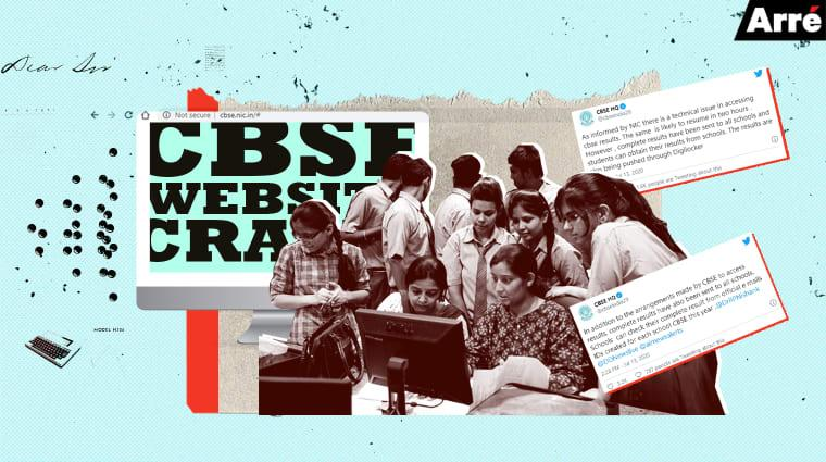 CBSE Website Crashes After Class 12 Results Announced. And They Say We Are Ready for Online Education