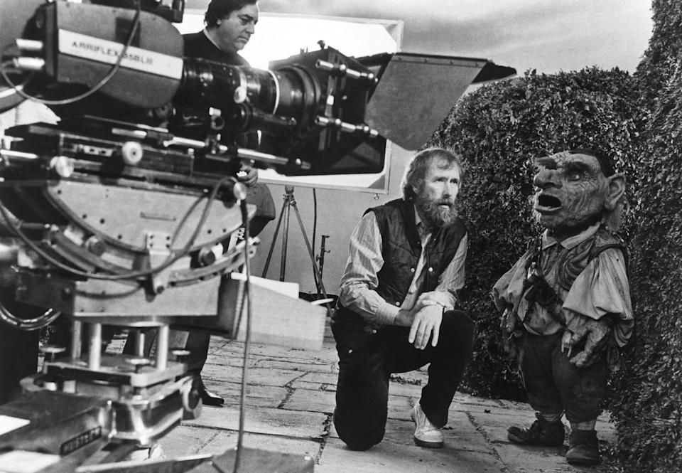 Jim Henson on the set of his 1986 fantasy, 'Labyrinth' (Photo: TriStar Pictures/courtesy Everett Collection)