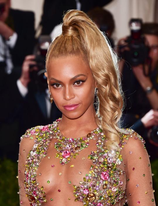 I Wore My Hair Just Like Beyonc 233 At The Met Gala