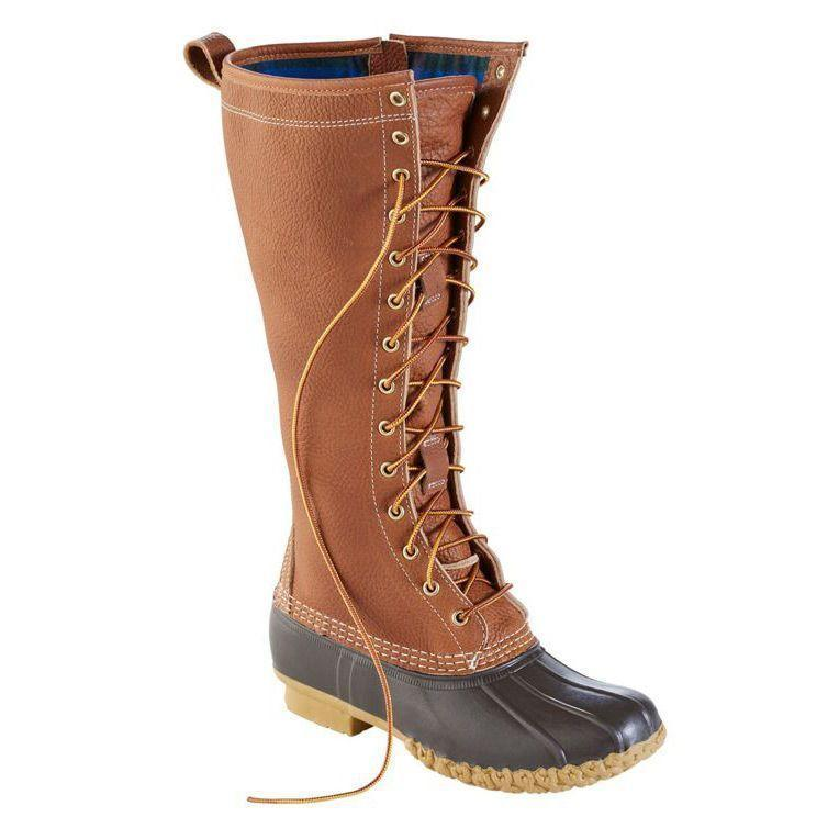"""<p><strong>L.L. Bean</strong></p><p>llbean.com</p><p><strong>$295.00</strong></p><p><a href=""""https://go.redirectingat.com?id=74968X1596630&url=https%3A%2F%2Fwww.llbean.com%2Fllb%2Fshop%2F123547%3Fpage%3Dwomen-s-limited-edition-bean-boots-16-flannel-lined&sref=https%3A%2F%2Fwww.goodhousekeeping.com%2Fclothing%2Fg29389536%2Fbest-winter-boots-for-women%2F"""" rel=""""nofollow noopener"""" target=""""_blank"""" data-ylk=""""slk:Shop Now"""" class=""""link rapid-noclick-resp"""">Shop Now</a></p><p>The <strong>trendy look of knee high boots meets the durability of L.L. Bean Bean Boots</strong> with this limited edition pair. Made with waterproof treated leather that is gently tumbled for an already-broken-in feel. They are lined with cotton flannel and 200 grams of Thinsulate insulation for warmth. These boots tend to run a little big, so L.L. Bean recommends that if you are a half size, order a half size down.</p>"""
