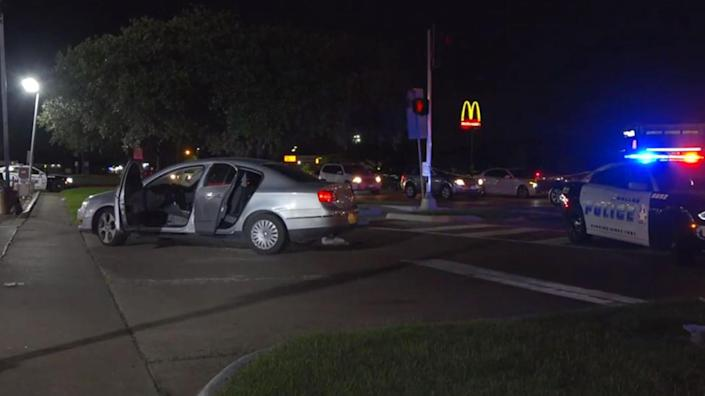 IMAGE: A pregnant woman was shot during a road rage incident in southeast Dallas on June 25 (NBC Dallas-Fort Worth)