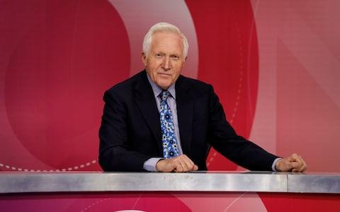 David Dimbleby will step down from the show he has hosted for the past 25 years on December 13 - Credit: Richard Lewisohn/BBC/PA