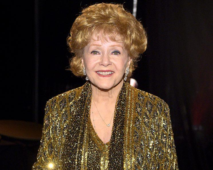 LOS ANGELES, CA - JANUARY 25: Actress Debbie Reynolds attends TNT's 21st Annual Screen Actors Guild Awards at The Shrine Auditorium on January 25, 2015 in Los Angeles, California. 25184_022 (Photo: Stefanie Keenan/WireImage)