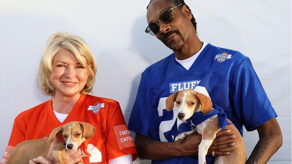 Martha Stewart and Snoop Dogg will throw an epic tailgate party as co-hosts this year.