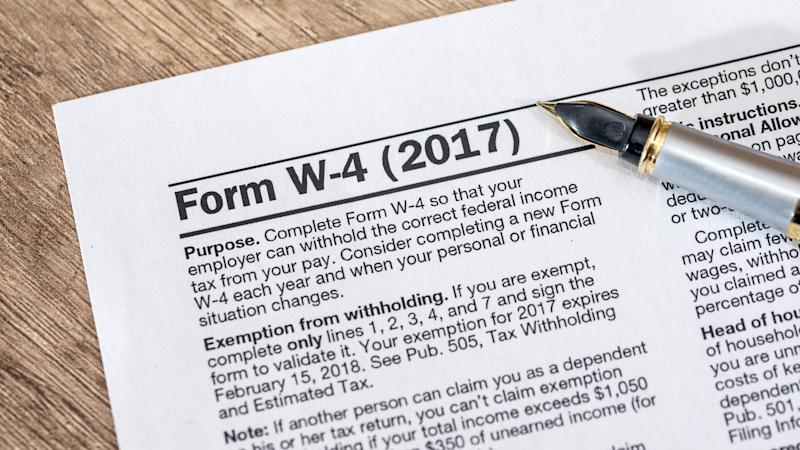 What Is A W 4 Form