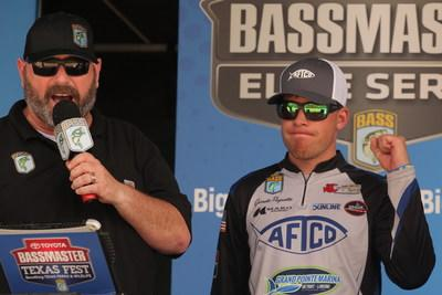 Garrett Paquette of Canton, Mich., is one of just 50 Elite Series anglers to make the Toyota Bassmaster Angler of the Year Championship.