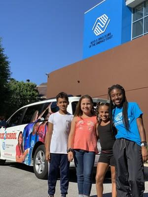 Boys & Girls Clubs of America presented three Boys & Girls Clubs across the country with brand new 2019 Toyota Sienna vehicles as a culmination to the nonprofit's Back2School™ Stuff the Bus Tour – powered by Toyota.