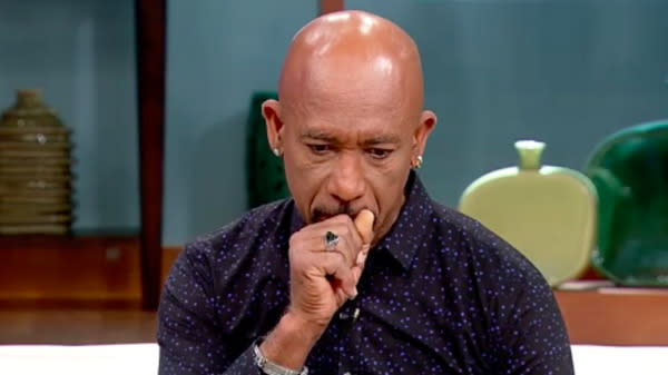Montel Williams, former talk show host and decorated military veteran, got choked up during an emotional defense of NFL players' rights to free speech this week.