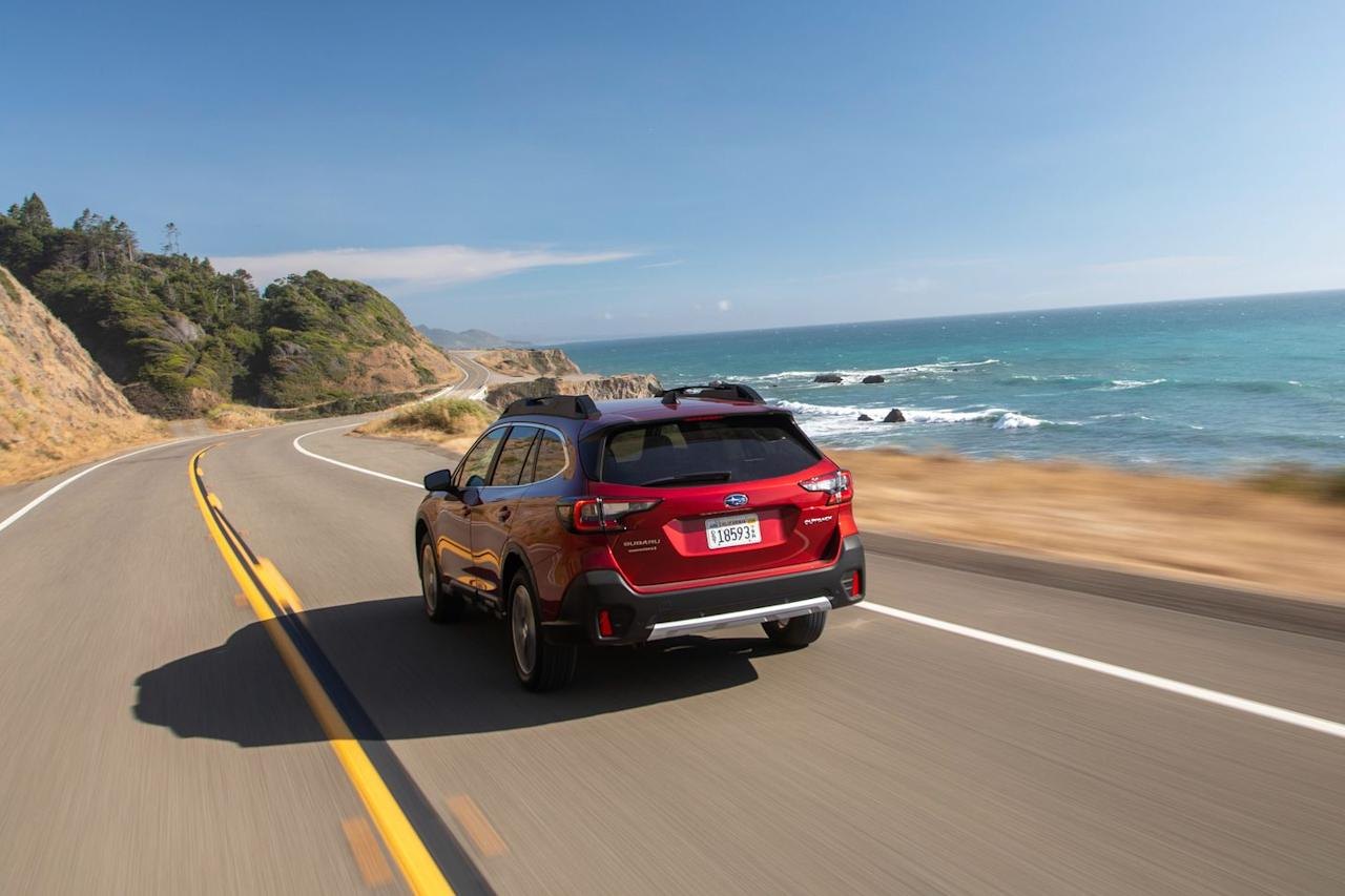 <p>Tweaks to the new Outback's exterior design are slight, but its body moldings are more sculpted, and there are changes to the head- and taillights.</p>