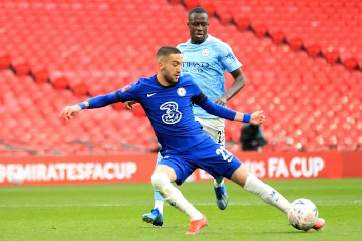 Hakim Ziyech's winner for Chelsea ended Manchester City's quest for a quadruple of trophies