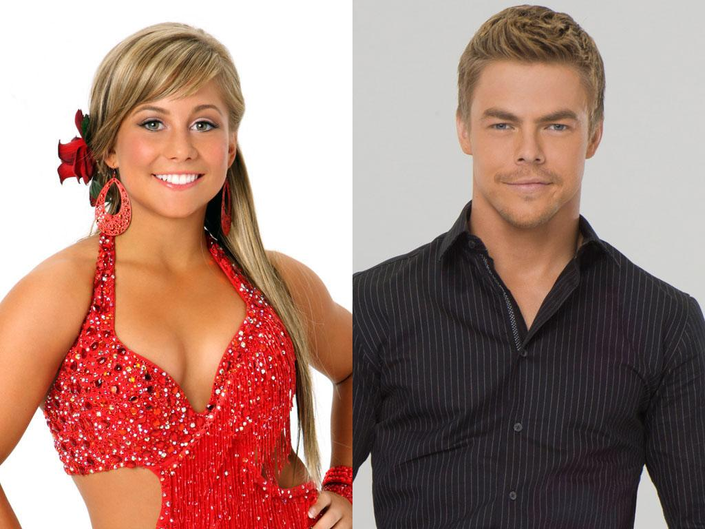 """Shawn Johnson will be dancing with Derek Hough this fall on ABC's """"Dancing With the Stars: All-Stars,"""" premiering September 23."""
