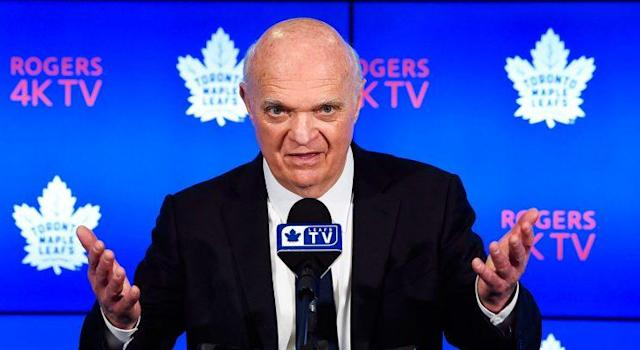 Maple Leafs GM Lou Lamoriello has made some questionable decision this offseason. (Nathan Denette/CP)