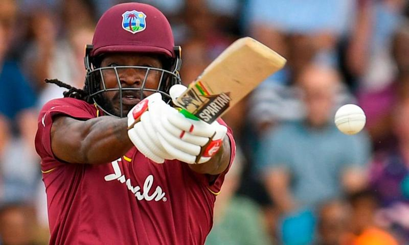 Chris Gayle remains a formidable figure at the crease