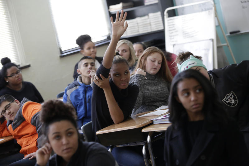 The Indiana's Choice program garners praise and criticism even as the number of students receiving vouchers rises. (Washington Post/Getty Images)