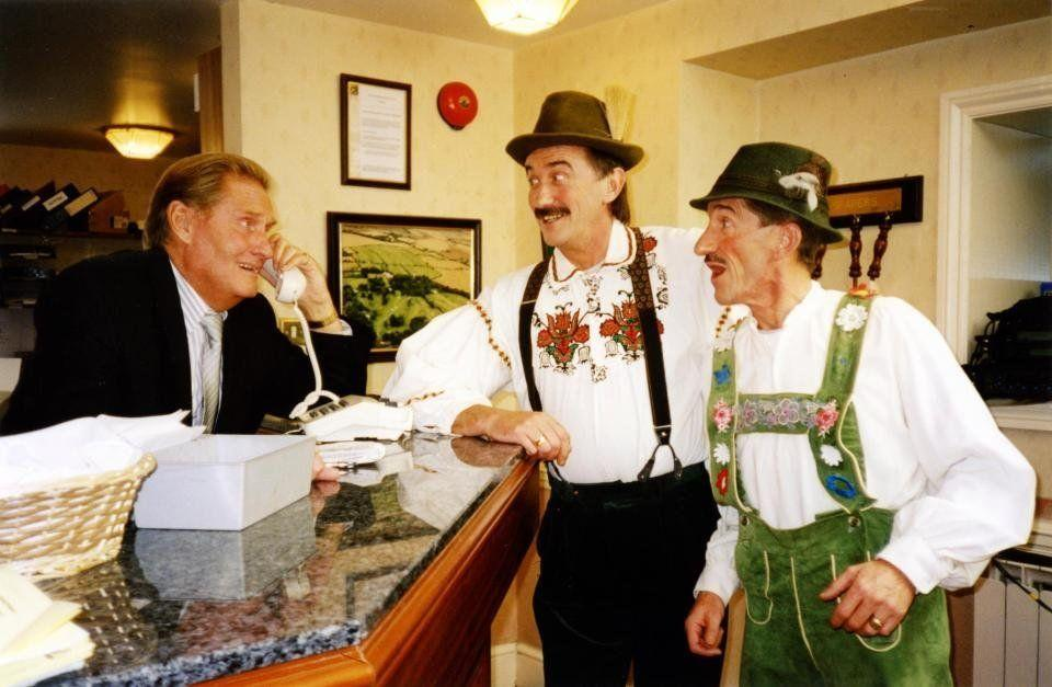 <strong>Jimmy Patton (1931-2019)</strong><br />Jimmy was the elder sibling of the Chuckle Brothers. He starred in 47 episodes of ChuckleVision between 1990 and 2009 and died 11 months after brother Barry.