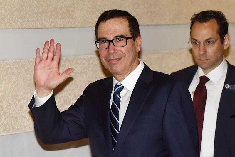 U.S., China Set to Finish Trade Talks Mnuchin Calls `Productive'