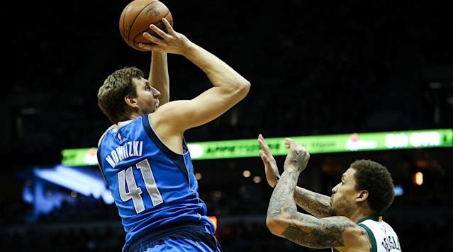 Dirk Nowitzki says he is coming back for a 20th NBA season