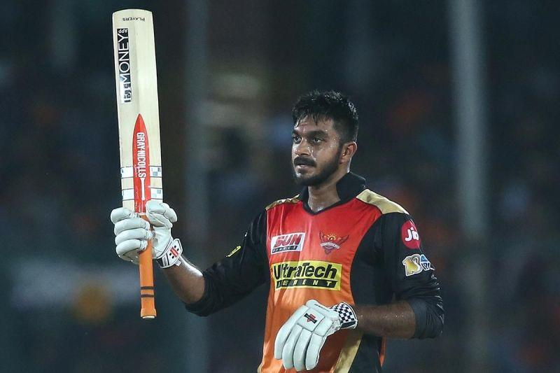 Vijay Shankar is slowly putting his name back in contention for national selection