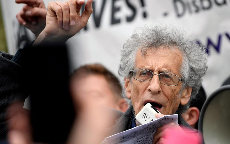 Piers Corbyn is standing trial for breaches of the coronavirus restrictions - Reuters