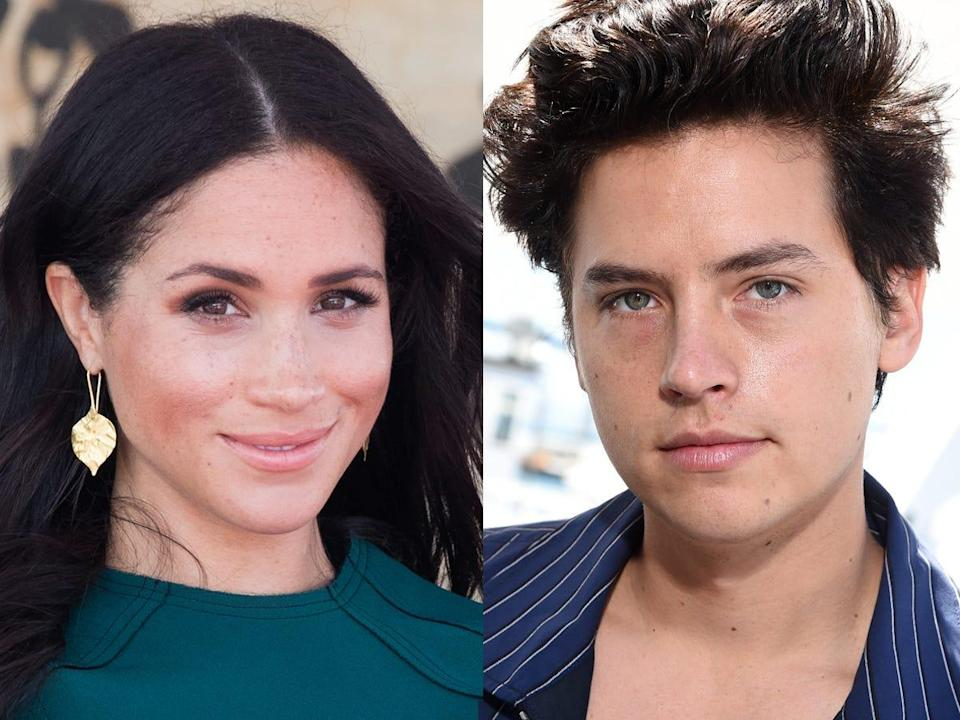 meghan markle cole sprouse