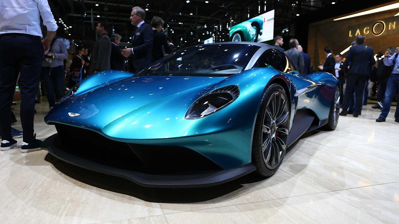The Best New Cars By Bugatti Aston Martin And Ferrari In 2018: 2019 Geneva Motor Show: 17,000 Horsepower Of Supercars