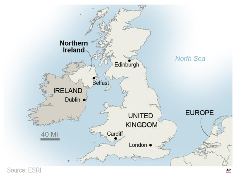 Proposals focus on maintaining an open border between the U.K.'s Northern Ireland and EU member Ireland - the key sticking point to a Brexit deal. ;
