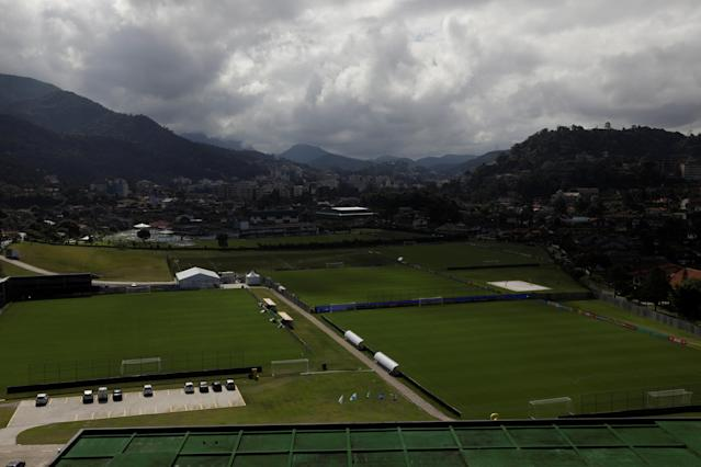 A view of the Granja Comary training centre, where Brazil soccer squad will start its preparation to Russia 2018 World Cup, in Teresopolis, Brazil May 18, 2018. REUTERS/Ricardo Moraes