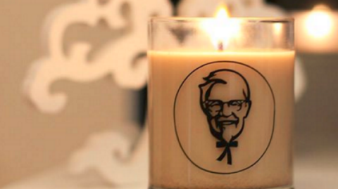 Would you fill your home with the scent of KFC? [Photo: Facebook/KFCNZ]