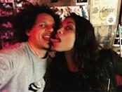 """<p>Apparently people didn't believe they are in a relationship because he then took to his Insta to share a photo of them swapping saliva. """"I think we have to touch tongues bb because people think this is a prank,"""" he revealed, before sharing <a rel=""""nofollow noopener"""" href=""""https://www.instagram.com/p/BQgCDENhyi4/?taken-by=ericfuckingandre&hl=en"""" target=""""_blank"""" data-ylk=""""slk:four"""" class=""""link rapid-noclick-resp"""">four</a> other photos of her, so it seems legit. (Photo: <a rel=""""nofollow noopener"""" href=""""https://www.instagram.com/p/BQgdbFrhWJT/?taken-by=ericfuckingandre&hl=en"""" target=""""_blank"""" data-ylk=""""slk:Instagram"""" class=""""link rapid-noclick-resp"""">Instagram</a>)(Photo: Instagram) </p>"""