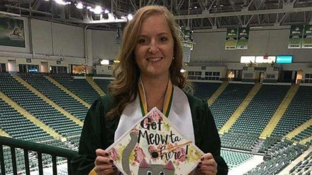 PHOTO: Kristy Epperson, now 23, is pictured at her college graduation. (Kristy Epperson )