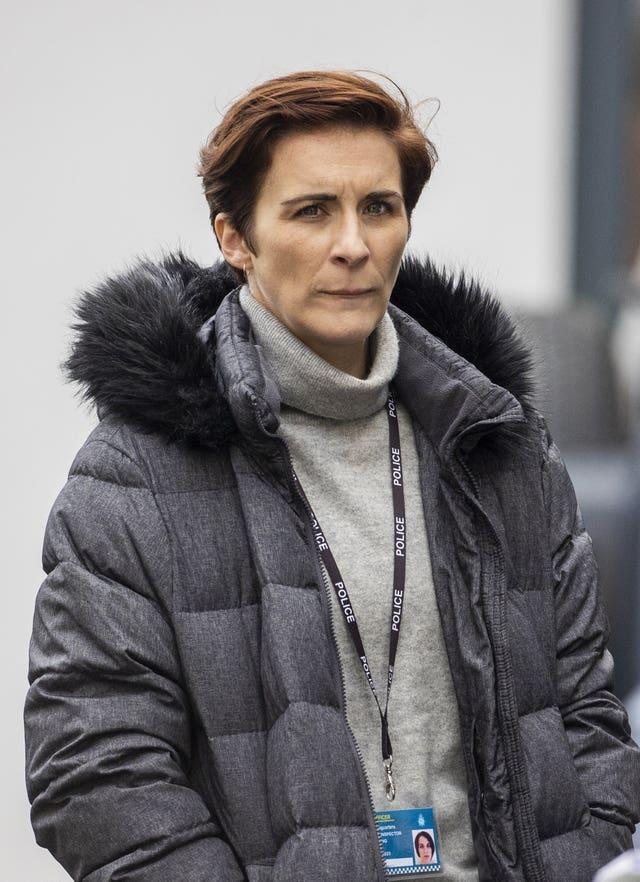 Vicky McClure filming Line Of Duty