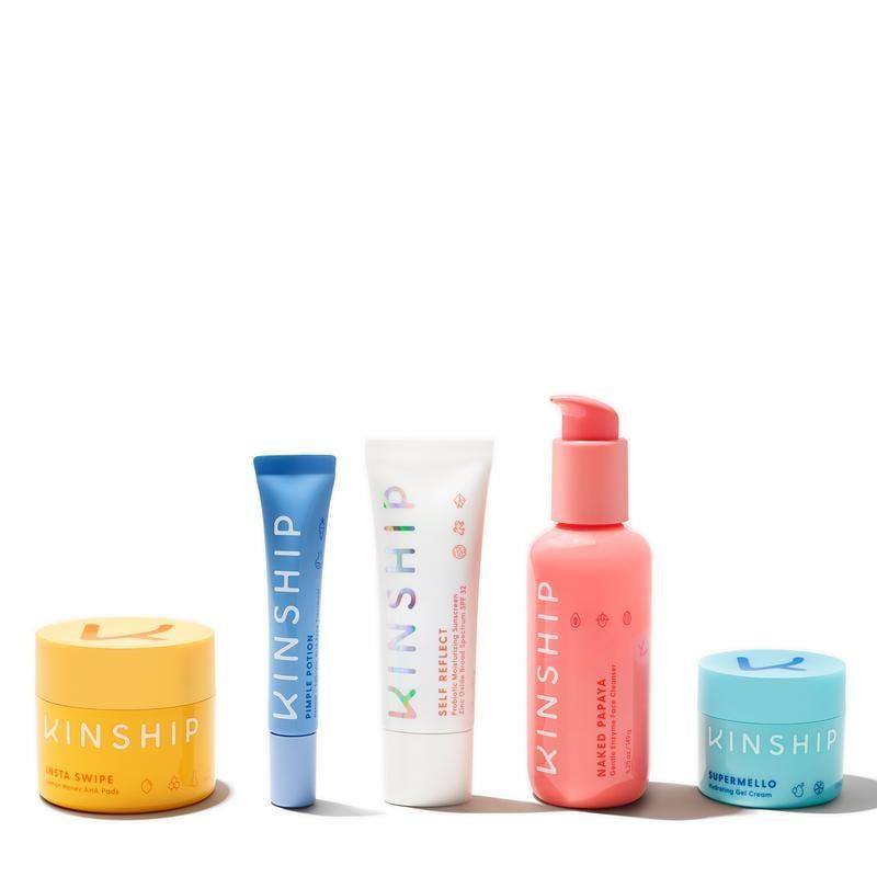 """<p>""""A new skincare line that I'm so excited about this year is Kinship. The SPF is my current favorite, but I really love the entire starter kit, which is a great gift for someone else and comes with an even cuter name: <span>This Is Everything</span> ($90) - because it really is."""" - Lisa Sugar, editor-in-chief</p>"""